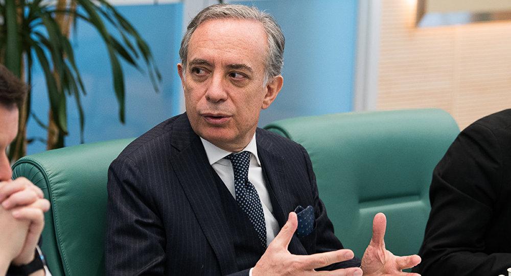 Ambasciatore d'Italia in Russia Pasquale Terracciano (foto d'archivio)