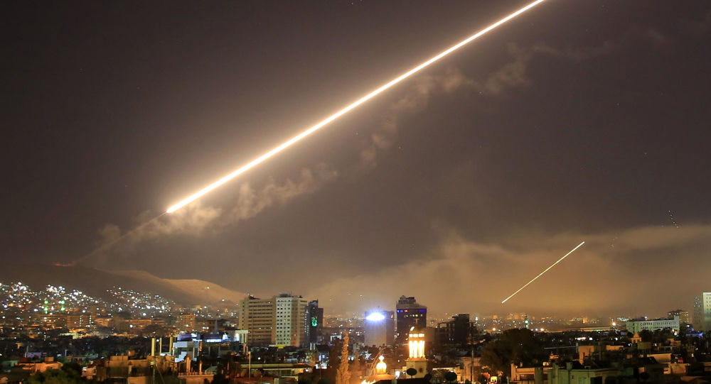 L'attacco missilistico degli USA a Damasco, Siria. (foto d'archivio)