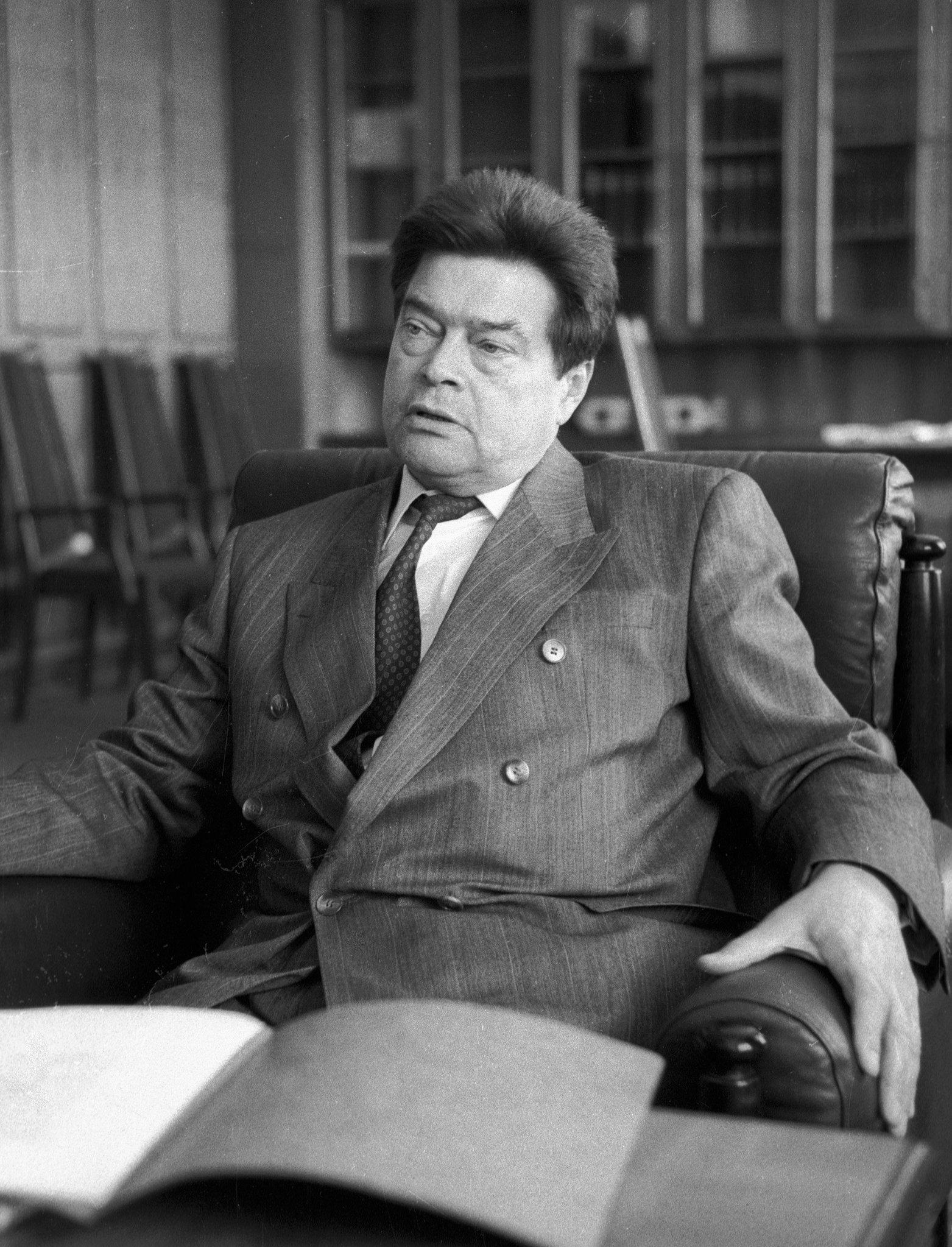 Boris Pankin (1931 - ), ministro degli affari esteri dell'URSS ad interim