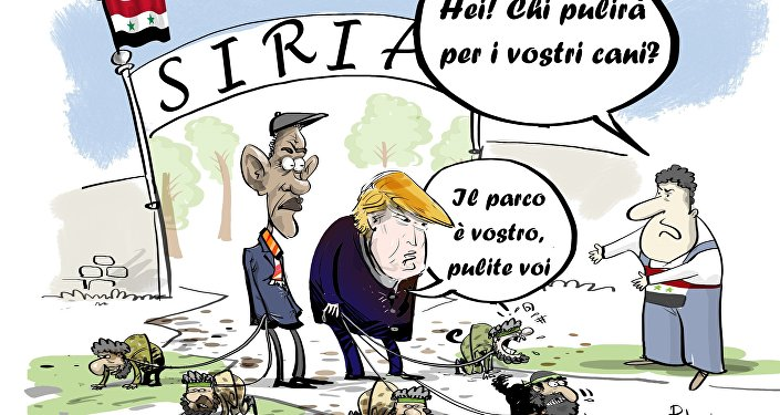 Gli USA non vogliono restituire le aree della Siria al presidente Bashar al-Assad.