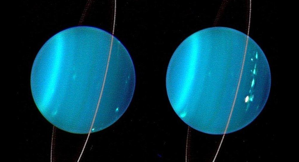 I due emisferi di Urano