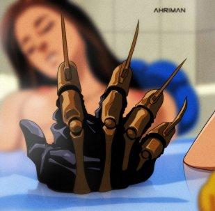 Scena da un film anime di Animotion