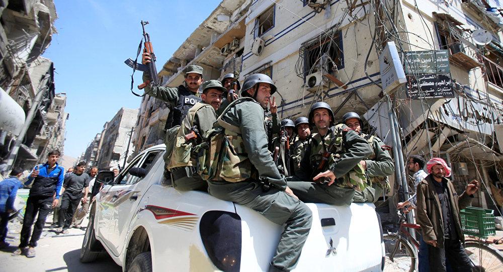 Polizia militare siriana