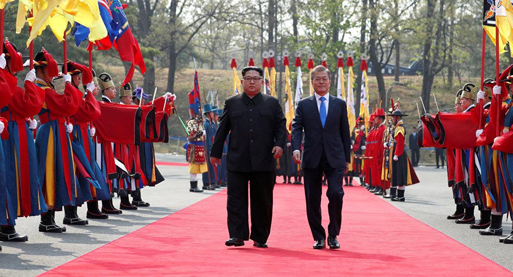 Presidenti delle due Coree
