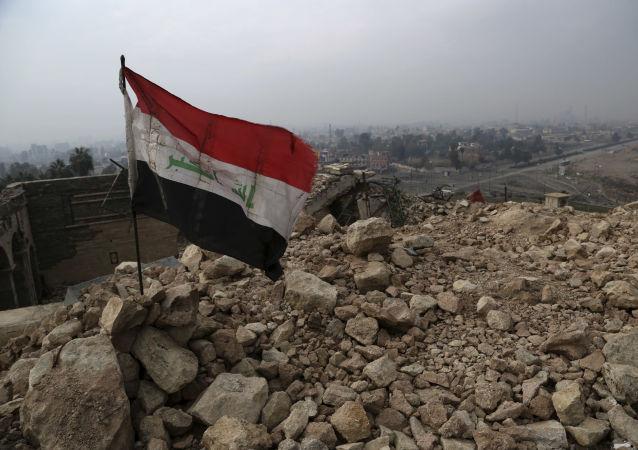 La bandiera dell'Iraq