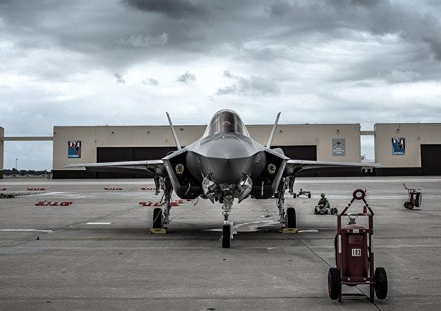 Caccia F-35 Lightning II (foto d'archivio)