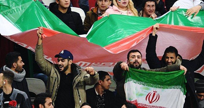 I tifosi iraniani