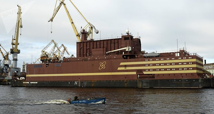 La prima centrale elettronucleare su acqua Akademik Lomonosov