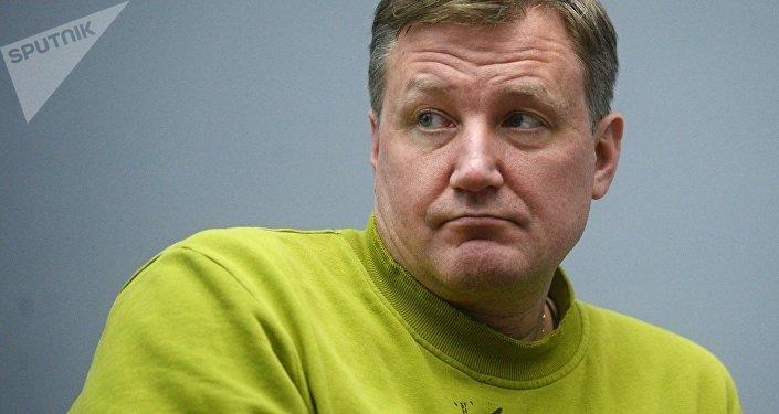 L'autore di fantascienza e futurologo Vadim Panov