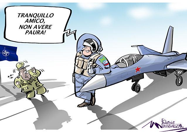 National Interest: paura della NATO per i caccia russi