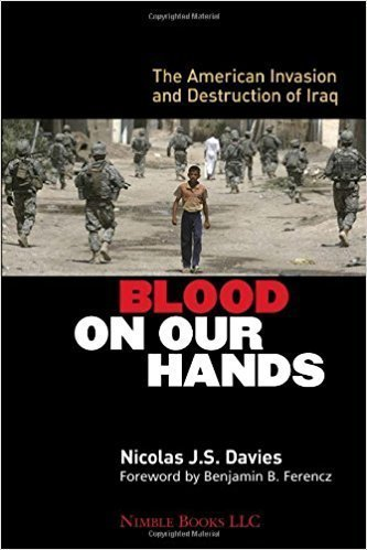 Il libro Blood on our hands da Nicolas J.S. Davies