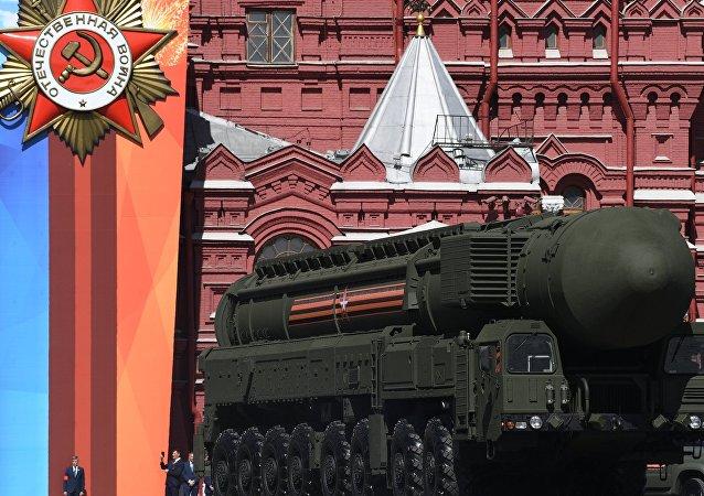 Anche i missili YARS sulla piazza Rossa