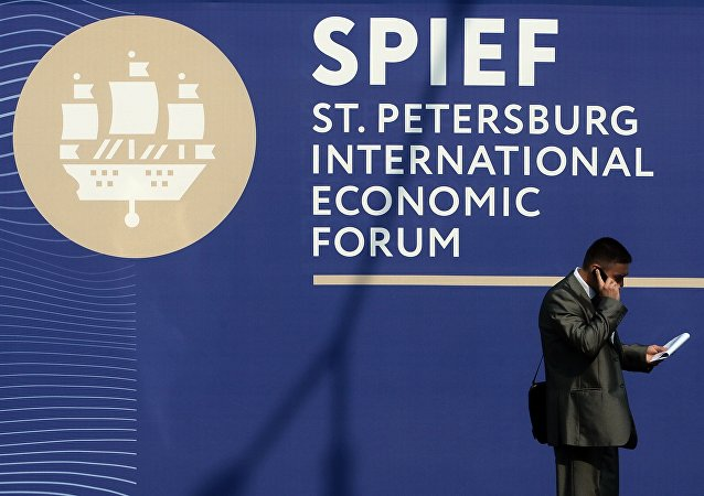 20th St. Petersburg International Economic Forum. Day One