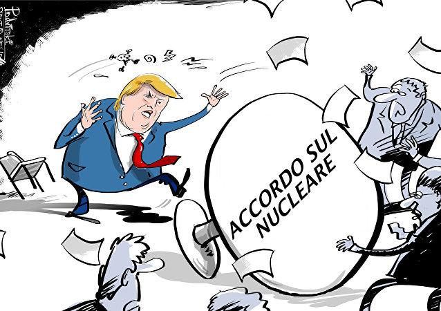 Gli USA si ritirano dall'accordo nucleare con l'Iran