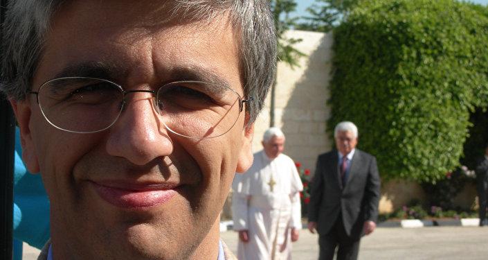 Andrea Tornielli - noto vaticanista, coordinatore del Vatican Insider.