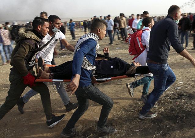 Proteste a Gaza