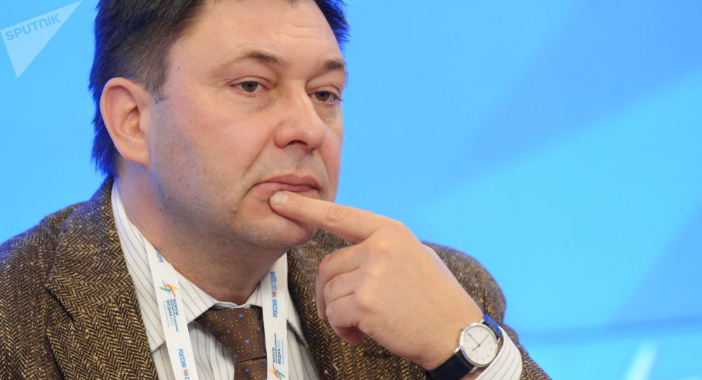 Kirill Vyshinsky; direttore di RIA Novosti Ukraina