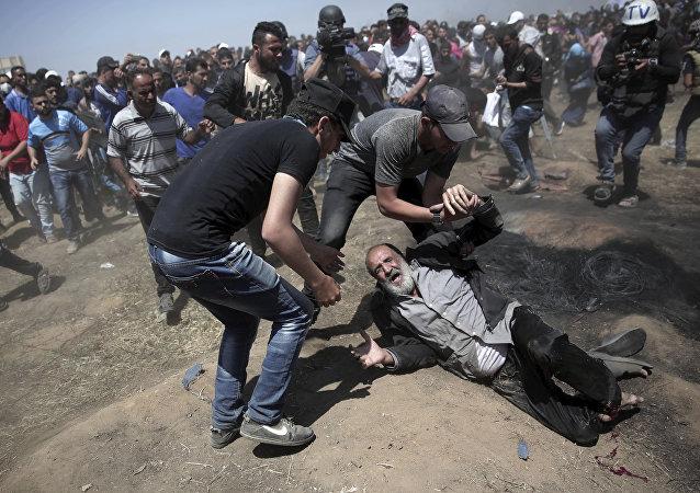 Scontri a Gaza