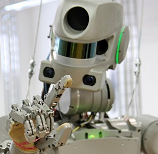 Il robot FEDOR (Final Experimental Demonstration Object Research)