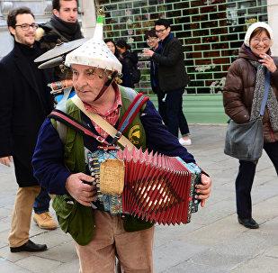 Un musicista a Venezia
