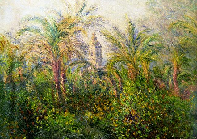 Claude Monet, Giardino a Bordighera, impressione al mattino (1884)