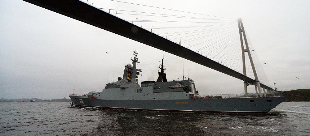 La Flotta del Pacifico russa in azione