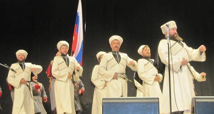 Il coro dei cosacchi del Kuban a Milano