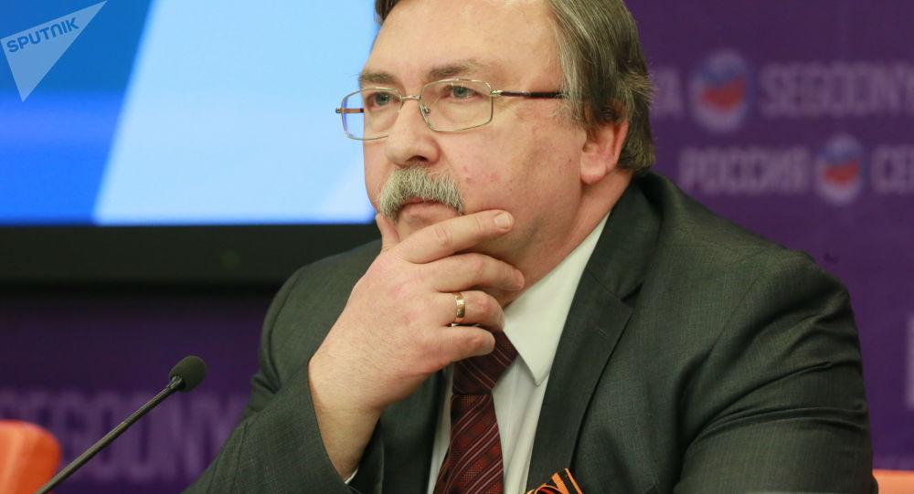 Mikhail Ulyanov.