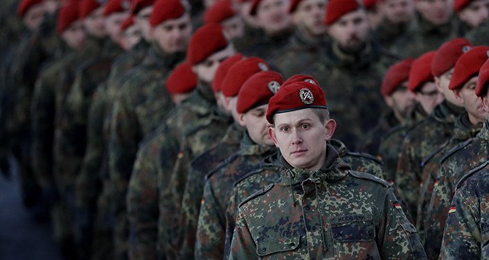 I soldati della Bundeswehr