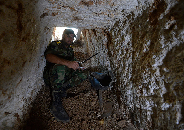 Un tunnel a Homs