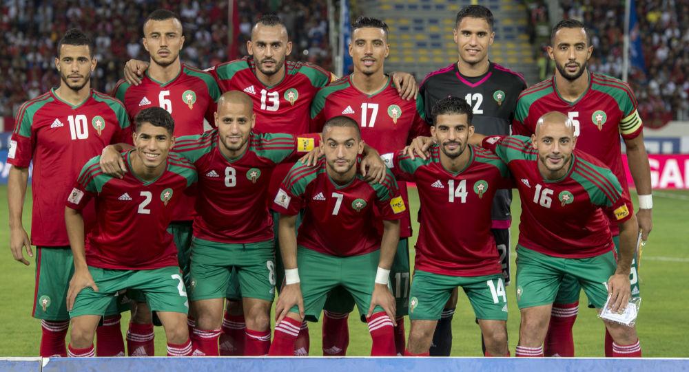 La nazionale marocchina