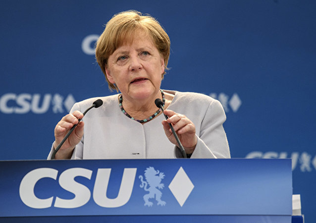 Il cancelliere tedesco Angela Merkel