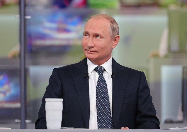 La linea diretta con Vladimir Putin