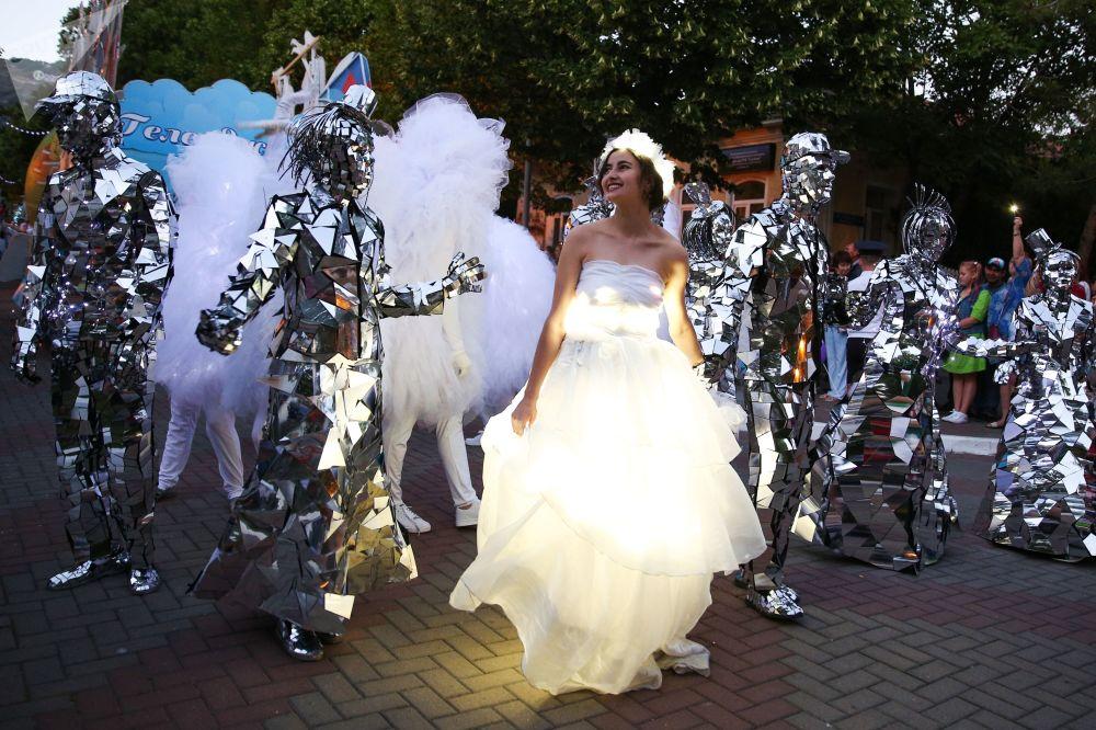 Carnavale a Gelendžik.