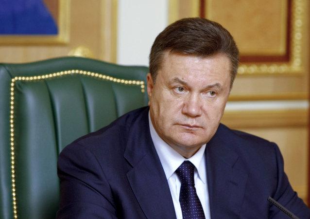Viktor Yanukovych (foto d'archivio)