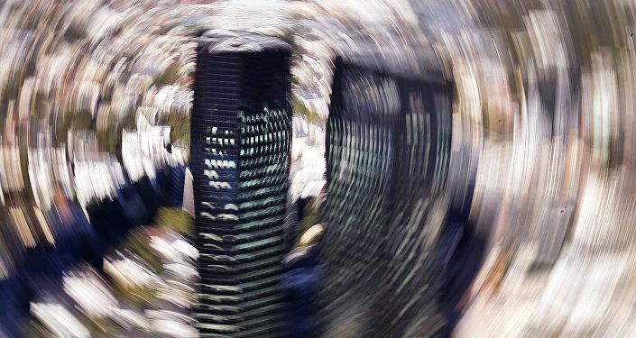 La Deutsche Bank a Francoforte