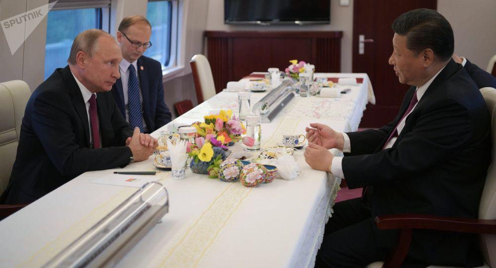 La visita ufficiale di Vladimir Putin in Cina