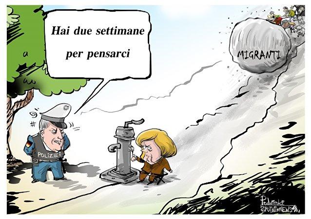 Il ministro degli Interni della Germania e leader dell'Unione Cristiano Sociale bavarese (Csu) Horst Seehofer ha fatto un ultimatum al cancelliere Angela Merkel sul problema dell'immigrazione clandestina
