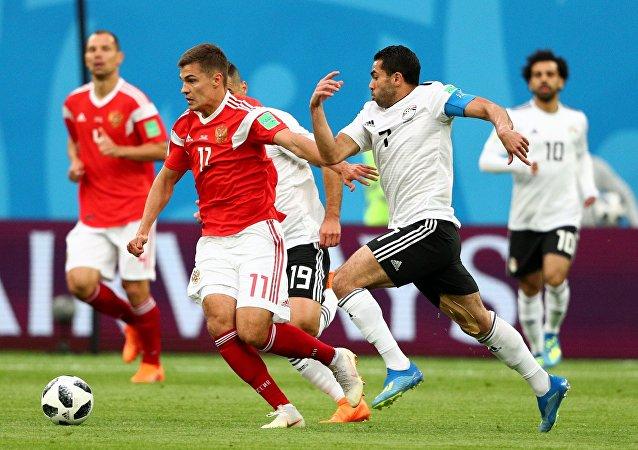 Russia-Egitto, Mondiali 2018