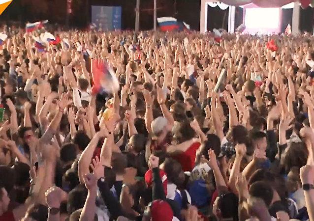 Migliaia di tifosi in tutta la Russia