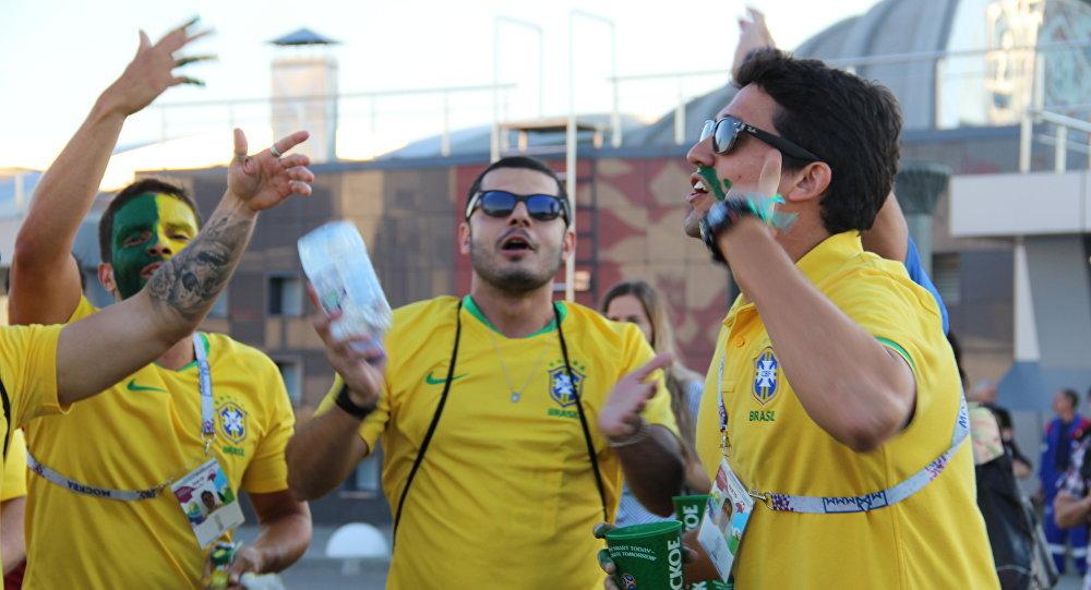 Tifosi brasiliani ai Mondiali