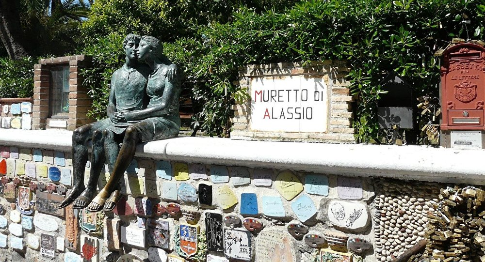 Il celebre Muretto di Alassio