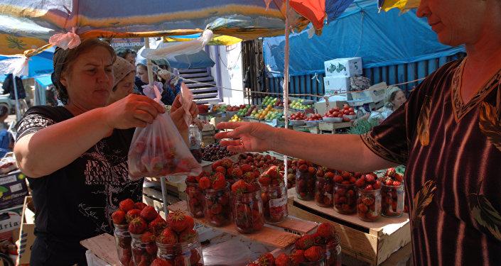Mercato a Grozny