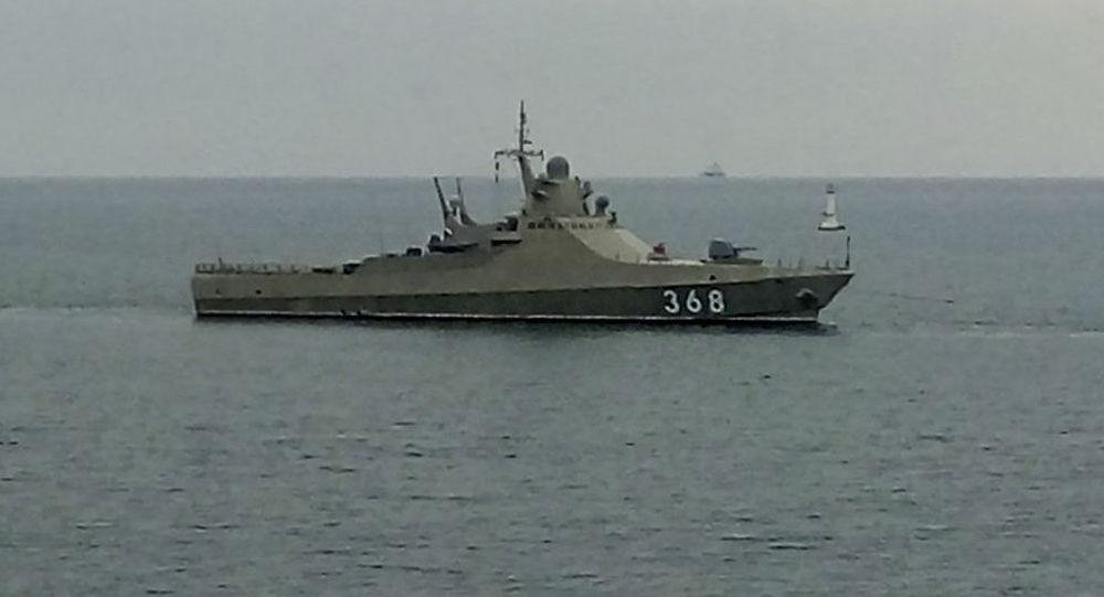 """Pattugliatore della Marina russa """"Vasily Bykov"""""""