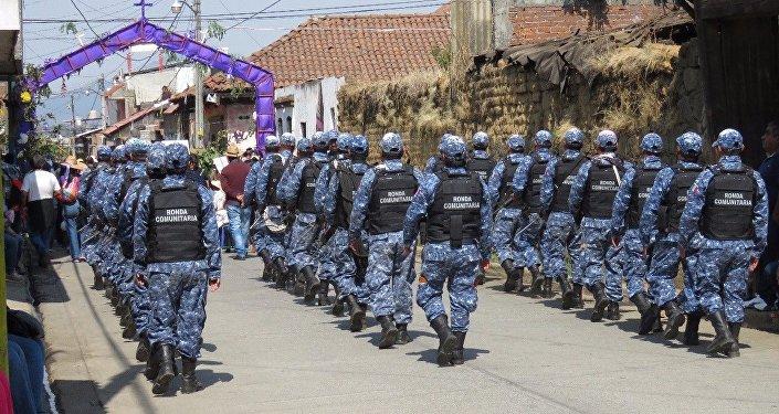 Le squadre incaricate della difesa di Cherán