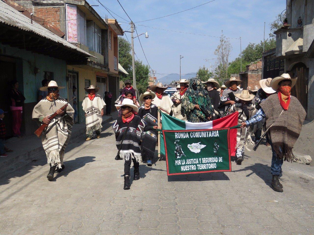 Gli abitanti di Cherán
