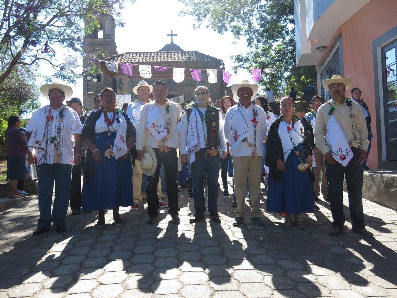 Gli abitanti della municipalità messicana di Cherán