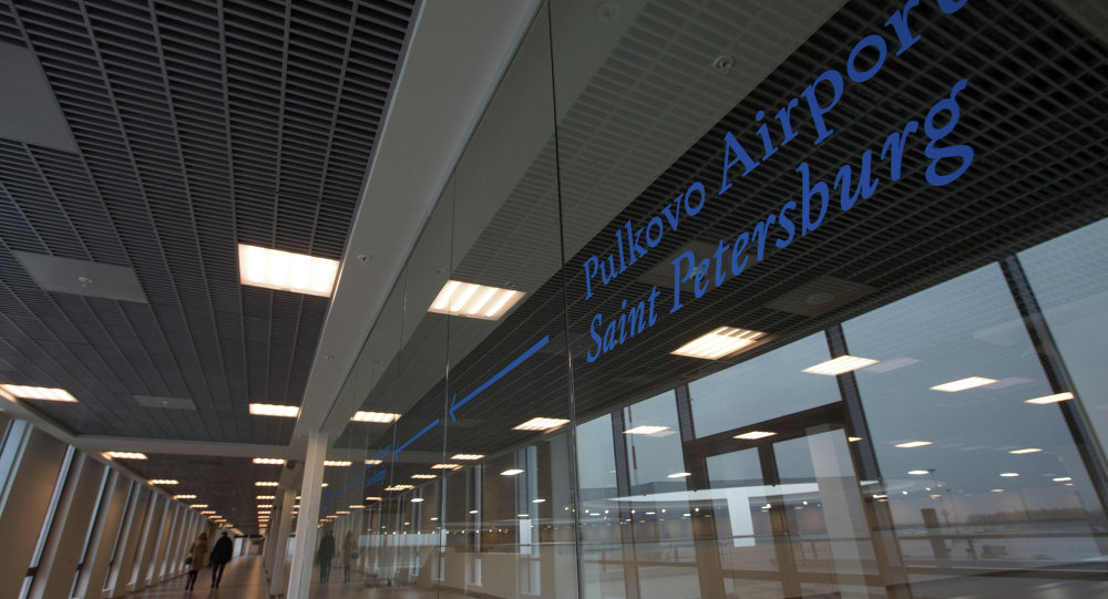 Aeroporto Pulkovo di San Pietroburgo