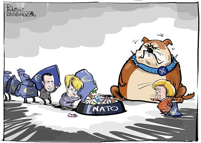 Merkel trova giustificazioni per aumento spese militari NATO