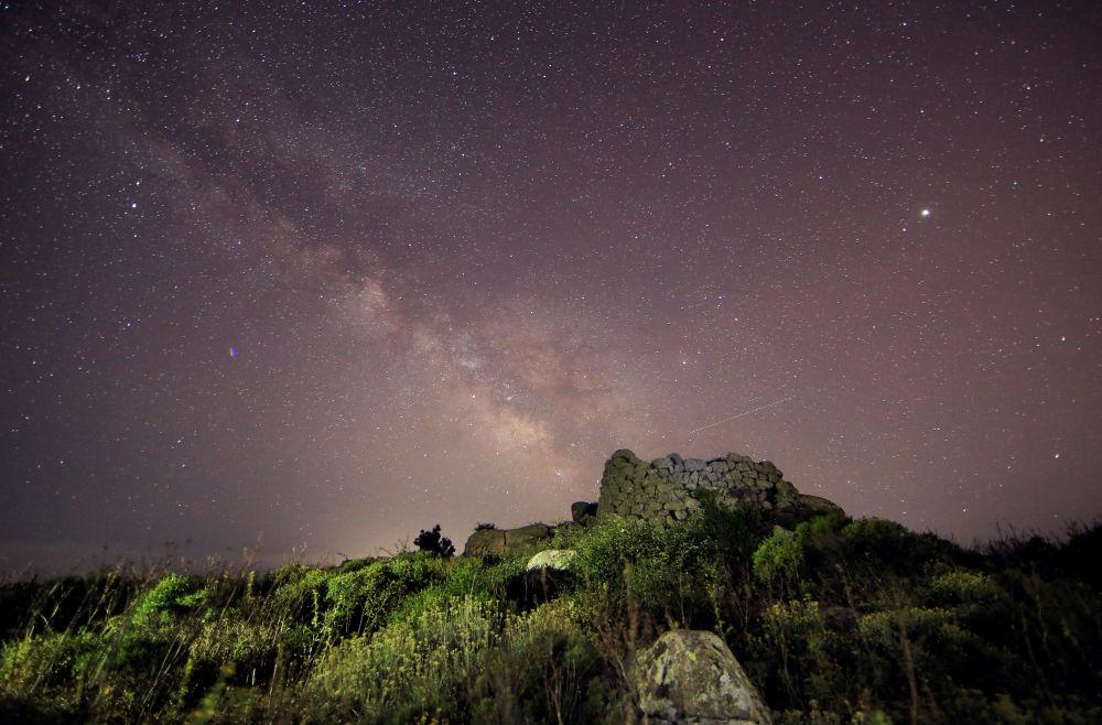 La Via Lattea, Sardegna.
